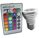 Picture of LED RGB Lightbulb /w Remote Control