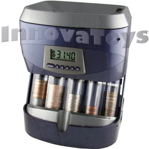 Innovatoys digital coin sorter awesome bank unique gifts for kids - Sorting coin bank ...