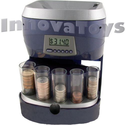 Innovatoys digital coin sorter awesome bank unique Coin sorting bank for kids