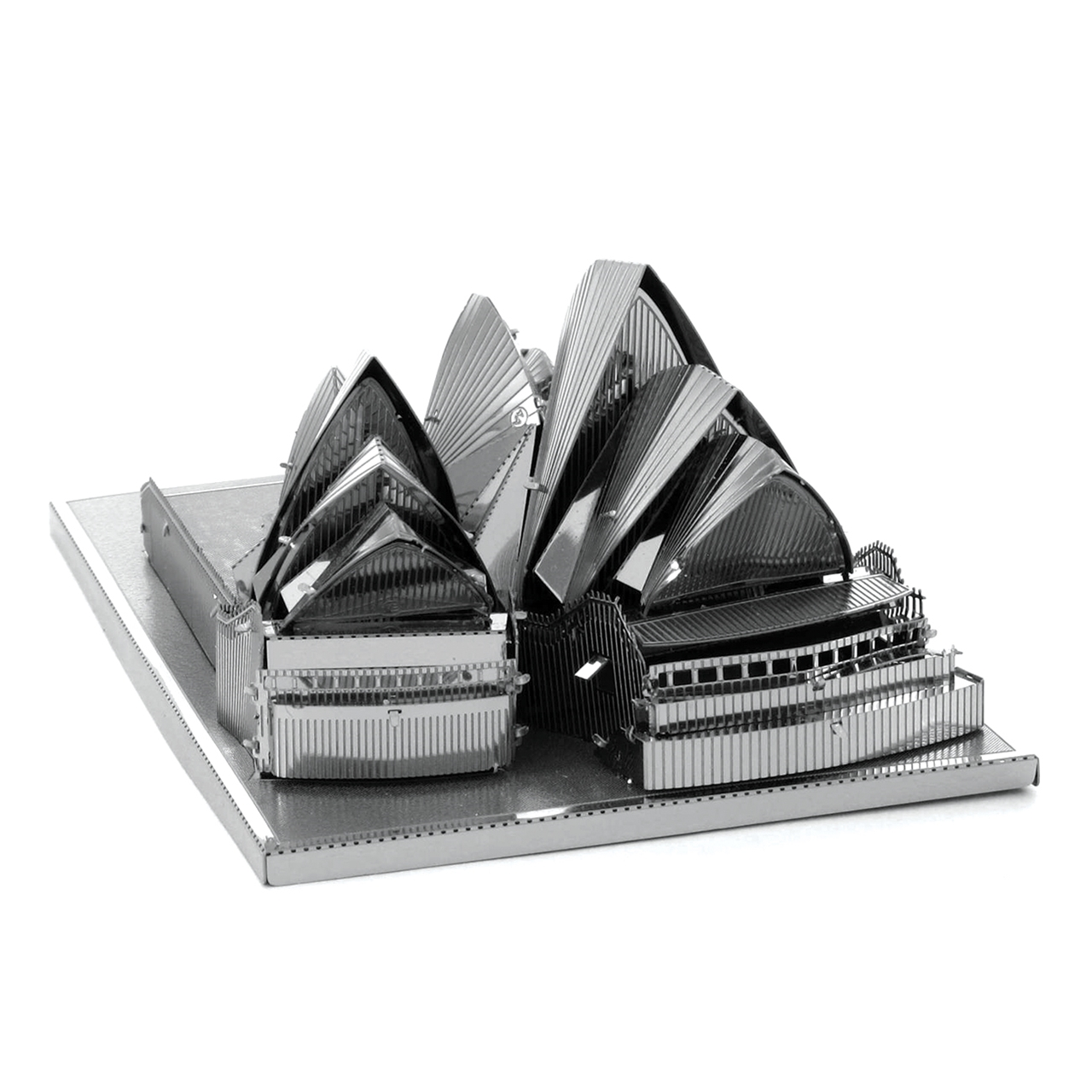 Innovatoys metal earth sydney opera house 3d diy for Architectural decoration crossword clue