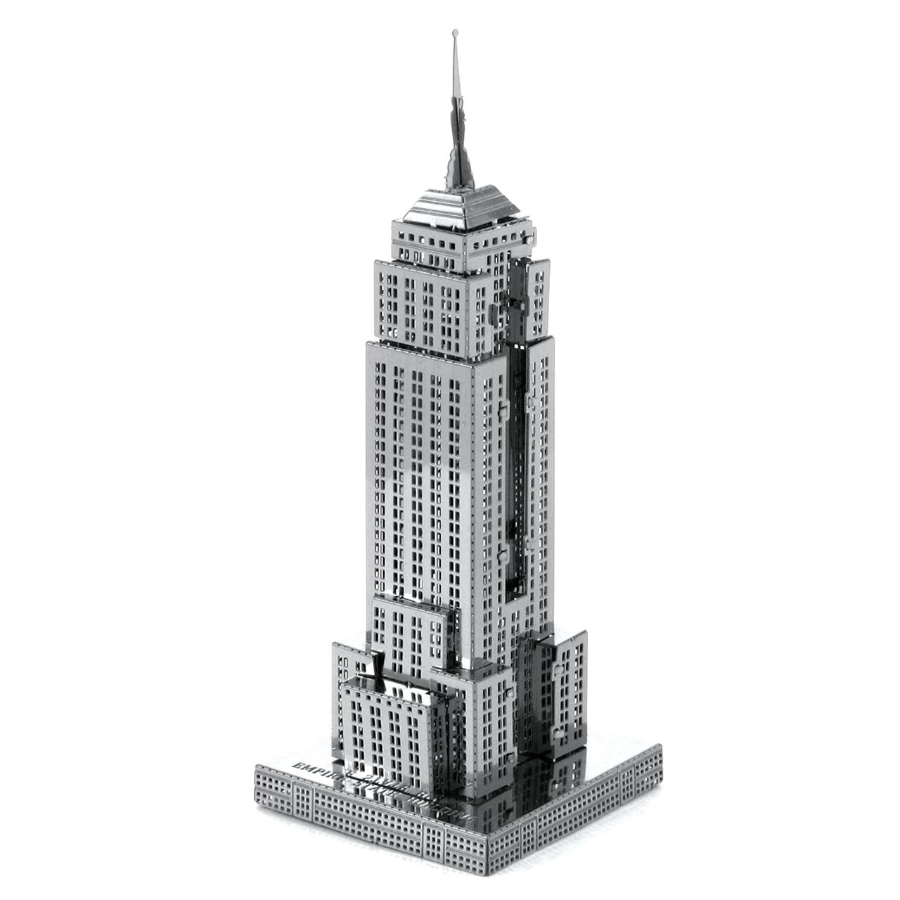 Metal Earth Empire State Building 3d Famous Landmak Metal