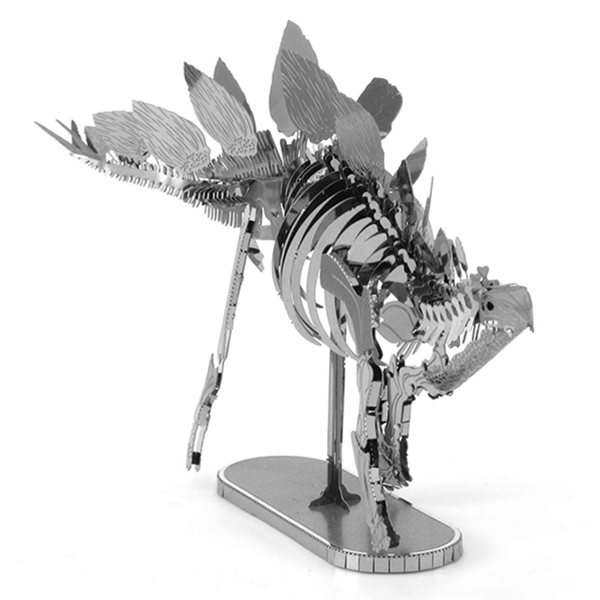 Metal Earth Stegosaurus Skeleton 3D DIY Dinosaur Metal ...