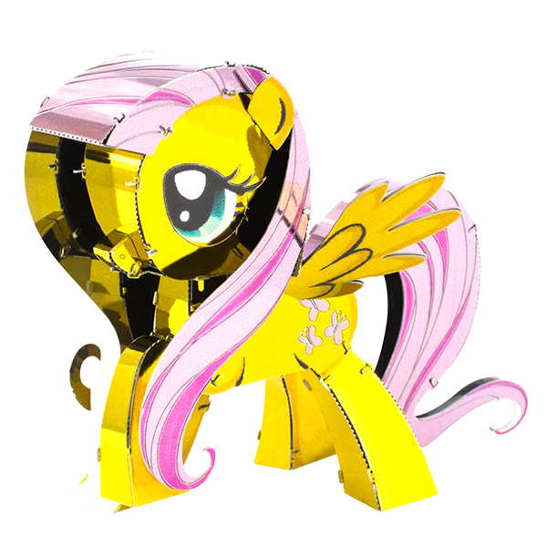 d5f767f67f1 Metal Earth My Little Pony - Fluttershy 3D Metal Models - Innovatoys ...
