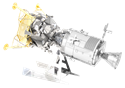 Picture of Apollo CSM with LM