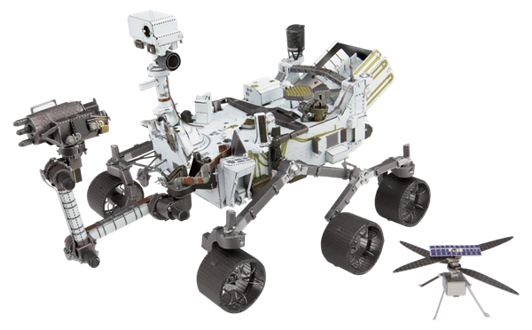 Picture of Mars Rover Perseverance & Ingenuity Helicopter