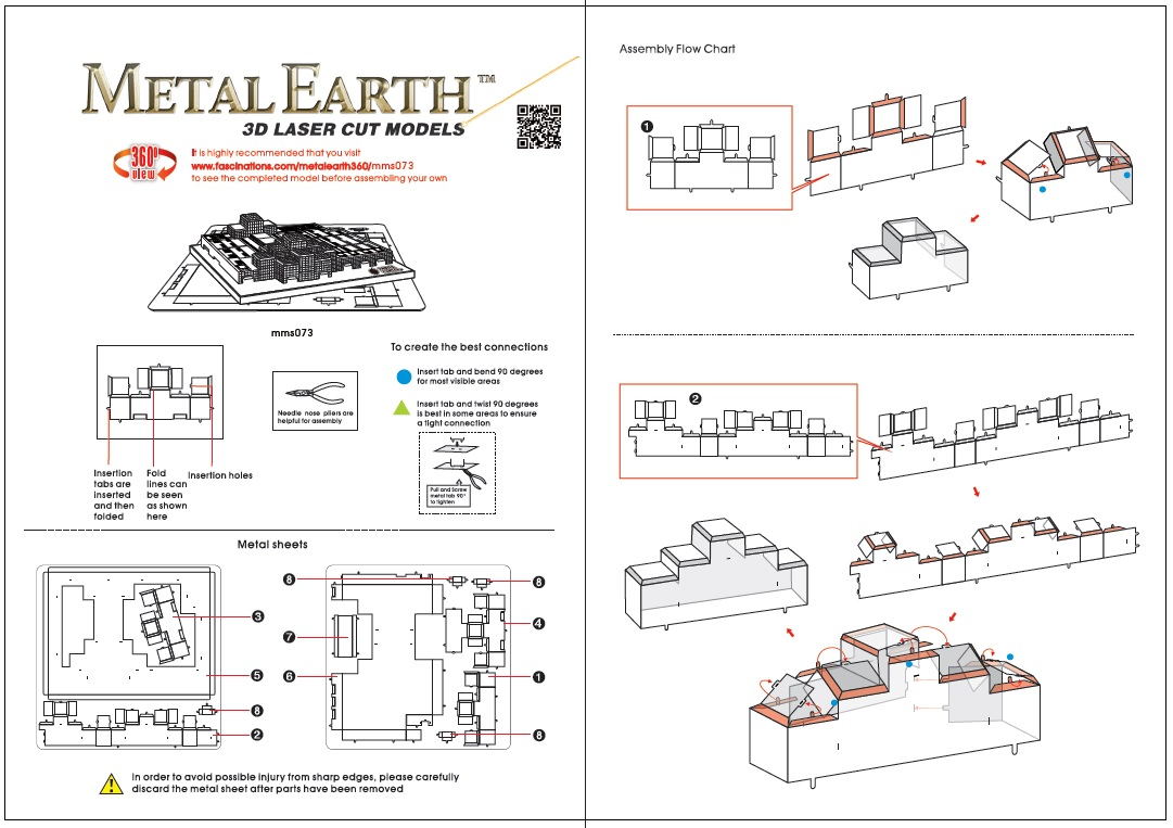 Instruction of Javits Convention Center | Metal Earth Architecture